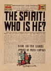 Cover for The Spirit (Register and Tribune Syndicate, 1940 series) #10/13/1940 [Minneapolis Star Journal edition]