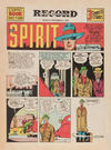 Cover for The Spirit (Register and Tribune Syndicate, 1940 series) #11/17/1940 [Philadelphia Record edition]