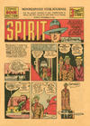 Cover for The Spirit (Register and Tribune Syndicate, 1940 series) #11/17/1940 [Minneapolis Star Journal edition]
