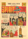 Cover for The Spirit (Register and Tribune Syndicate, 1940 series) #11/17/1940 [Baltimore Sun edition]