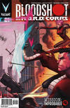 Cover Thumbnail for Bloodshot and H.A.R.D.Corps (2013 series) #21 [Cover B - Pullbox Edition - Jorge Molina]
