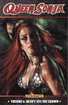 Cover for Queen Sonja (Dynamite Entertainment, 2010 series) #6 - Heavy Sits the Crown