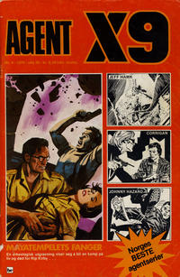 Cover Thumbnail for Agent X9 (Nordisk Forlag, 1974 series) #4/1976