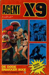 Cover Thumbnail for Agent X9 (Nordisk Forlag, 1974 series) #5/1976