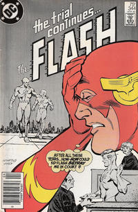 Cover for The Flash (DC, 1959 series) #344 [Direct Sales Variant]