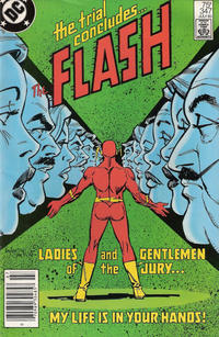Cover Thumbnail for The Flash (DC, 1959 series) #347 [Newsstand Edition]