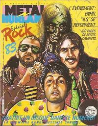 Cover Thumbnail for Métal Hurlant (Les Humanoïdes Associés, 1975 series) #83 bis