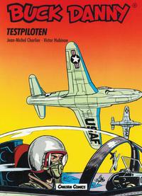 Cover Thumbnail for Buck Danny (Carlsen Comics [DE], 1989 series) #4 - Testpiloten