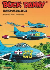 Cover Thumbnail for Buck Danny (Carlsen Comics [DE], 1989 series) #12 - Terror in Malaysia