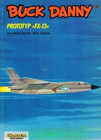 "Cover Thumbnail for Buck Danny (Carlsen Comics [DE], 1989 series) #18 - Prototyp ""FX-13"""