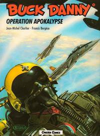 Cover Thumbnail for Buck Danny (Carlsen Comics [DE], 1989 series) #35 - Operation Apokalypse