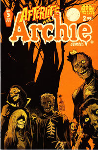 Cover Thumbnail for Afterlife with Archie (Archie, 2013 series) #5 [Francesco Francavilla Cover]