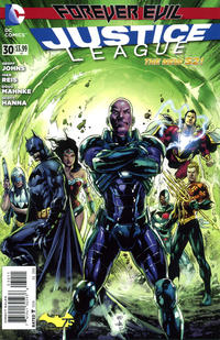 Cover Thumbnail for Justice League (DC, 2011 series) #30