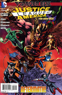 Cover Thumbnail for Justice League of America (DC, 2013 series) #14