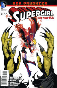 Cover Thumbnail for Supergirl (DC, 2011 series) #31 [Direct Sales]