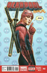 Cover Thumbnail for Deadpool Annual (Marvel, 2014 series) #2
