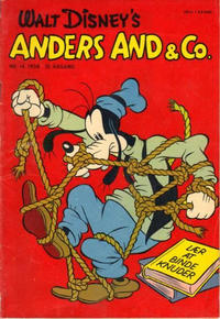 Cover Thumbnail for Anders And & Co. (Egmont, 1949 series) #14/1958