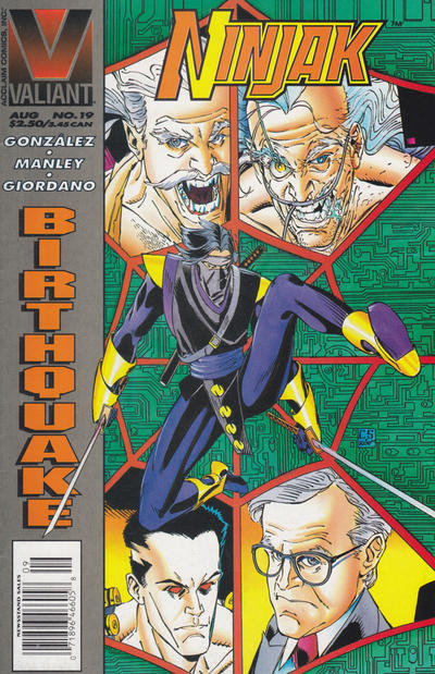 Cover for Ninjak (Acclaim / Valiant, 1994 series) #19