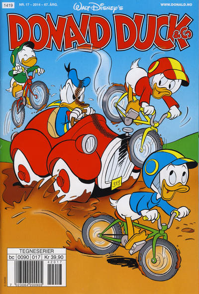 Cover for Donald Duck & Co (Hjemmet / Egmont, 1948 series) #17/2014