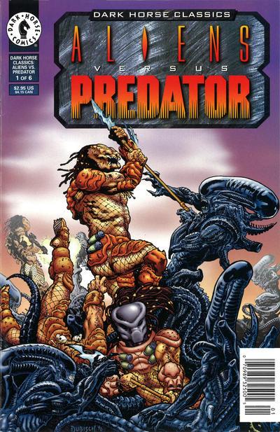 Cover for Dark Horse Classics: Aliens Versus Predator (Dark Horse, 1997 series) #1