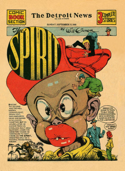 Cover for The Spirit (Register and Tribune Syndicate, 1940 series) #9/15/1940