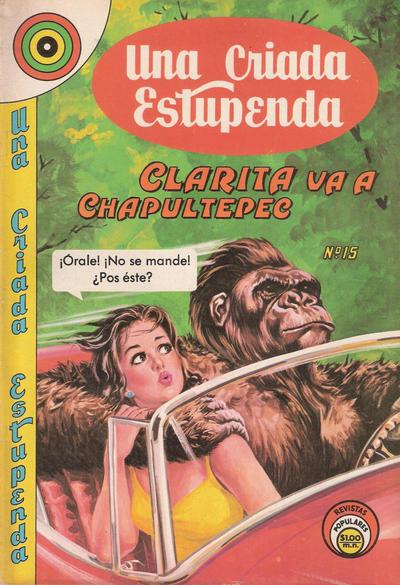 Cover for Una Criada Estupenda (Editorial Novaro, 1968 series) #15