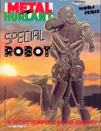 Cover for Métal Hurlant (Les Humanoïdes Associés, 1975 series) #79 bis