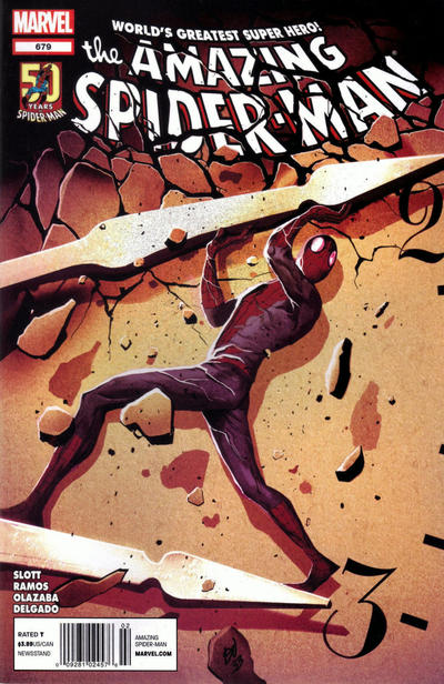 Cover for The Amazing Spider-Man (Marvel, 1999 series) #679