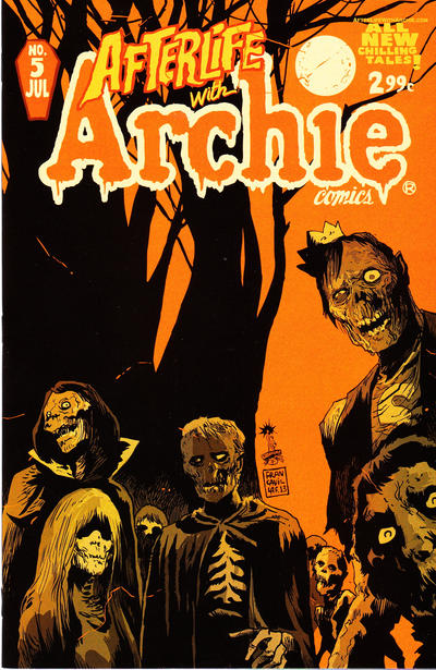 Cover for Afterlife with Archie (Archie, 2013 series) #5 [Andrew Pepoy Variant]