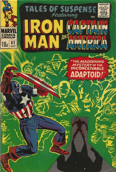 Cover for Tales of Suspense (Marvel, 1959 series) #82