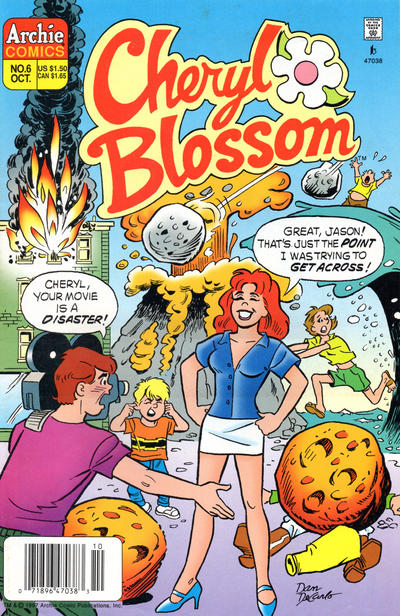 Cover for Cheryl Blossom (Archie, 1997 series) #6 [Direct Edition]