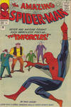 Cover for The Amazing Spider-Man (Marvel, 1963 series) #10 [British Price Variant]