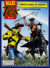 Cover for Maxi Tex (Hjemmet / Egmont, 2008 series) #34 - Langs vestens stier