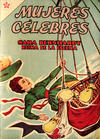 Cover for Mujeres Célebres (Editorial Novaro, 1961 series) #27