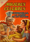 Cover for Mujeres Célebres (Editorial Novaro, 1961 series) #23