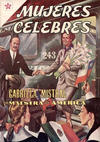 Cover for Mujeres Célebres (Editorial Novaro, 1961 series) #5