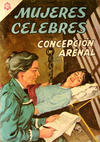Cover for Mujeres Célebres (Editorial Novaro, 1961 series) #50