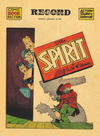 Cover Thumbnail for The Spirit (1940 series) #1/19/1941 [Philadelphia Record edition]