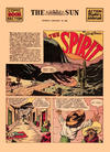 Cover Thumbnail for The Spirit (1940 series) #1/26/1941 [Baltimore Sun edition]