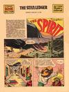 Cover Thumbnail for The Spirit (1940 series) #1/26/1941 [Newark NJ Star Ledger edition]