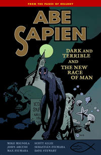 Cover Thumbnail for Abe Sapien (Dark Horse, 2008 series) #3 - Dark and Terrible and The New Race of Man