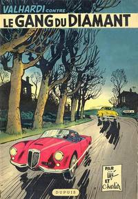 Cover Thumbnail for Valhardi (Dupuis, 1943 series) #7 - Le gang du diamant