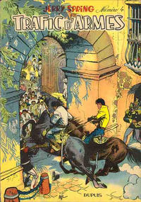 Cover Thumbnail for Jerry Spring (Dupuis, 1955 series) #4 - Trafic d'armes