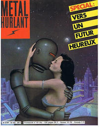 Cover Thumbnail for Métal Hurlant (Les Humanoïdes Associés, 1975 series) #61 bis