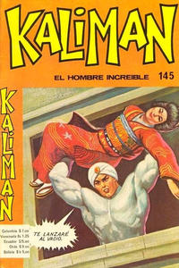 Cover Thumbnail for Kaliman (Editora Cinco, 1976 series) #145