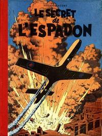 Cover Thumbnail for Les aventures de Blake et Mortimer (Le Lombard, 1950 series) #1 - Le secret de l'espadon 1