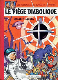 Cover Thumbnail for Les aventures de Blake et Mortimer (Le Lombard, 1950 series) #8 - Le piège diabolique