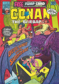 Cover Thumbnail for Conan the Barbarian (Newton Comics, 1975 series) #5