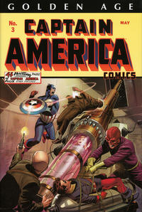 Cover Thumbnail for Golden Age Captain America Omnibus (Marvel, 2014 series) #1 [Lee Weeks Cover]