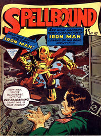 Cover Thumbnail for Spellbound (L. Miller & Son, 1960 ? series) #47